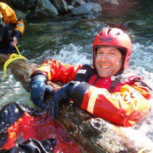 Strainers:  Swiftwater rescue hazard!