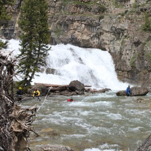 """Spring"" swiftwater rescue training with Sands Whitewater in Jackson"