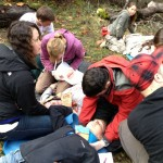 Outdoor Emergy Medical Scenario