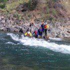 UC Davis beginners river rescue training