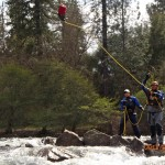 scenario training during our river rescue course in coloma, california