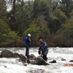 River Rescue Certification Training in Coloma, California