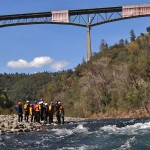 swiftwater river rescue certification course with UC Davis