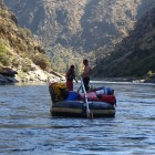 Sweep Boats on the Middle Fork Salmon River